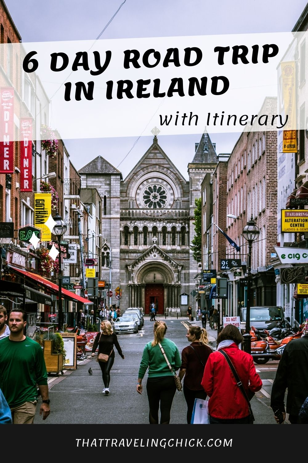 6 Day Road Trip in Ireland with Itinerary #ireland