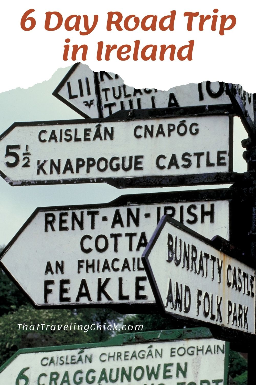 6 Day Road Trip in Ireland #ireland #irelandroadtrip