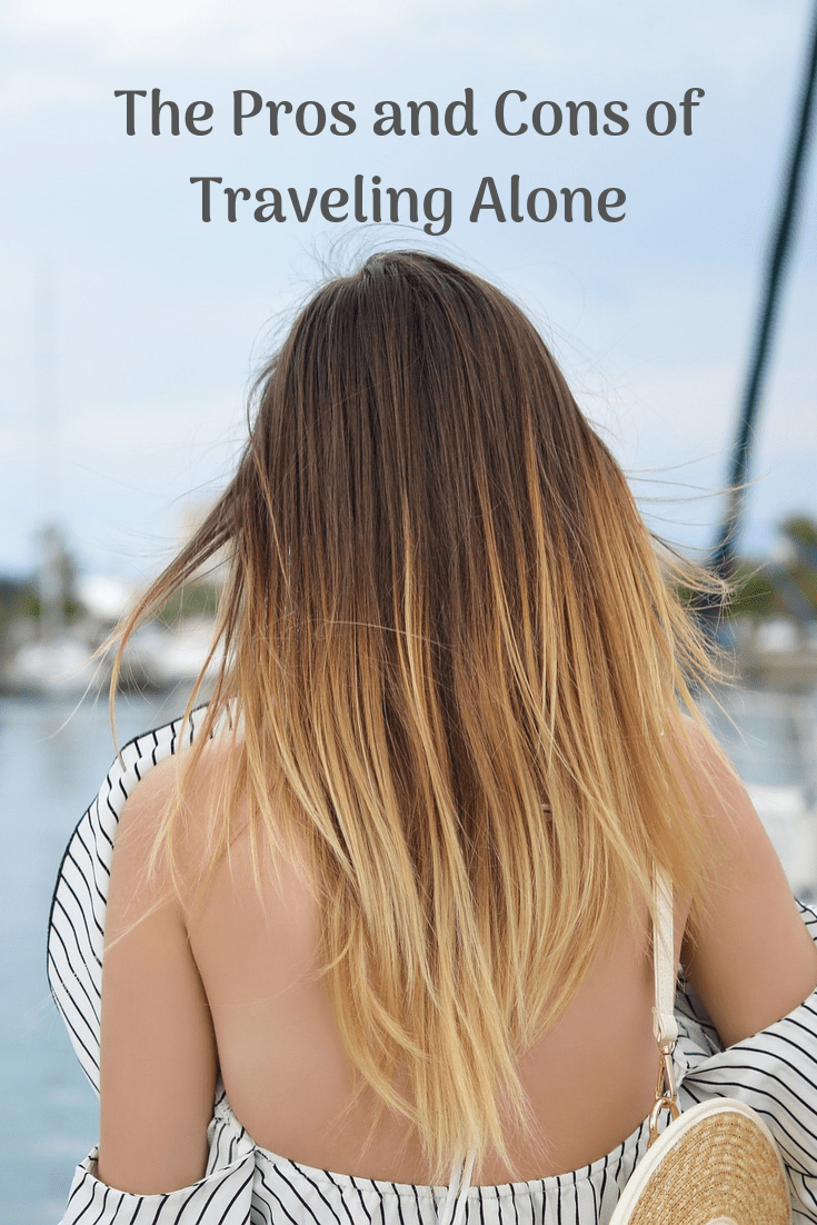 The Pros and Cons of Traveling Alone #solotravel #thattravelingchick #travelingalone #traveltips