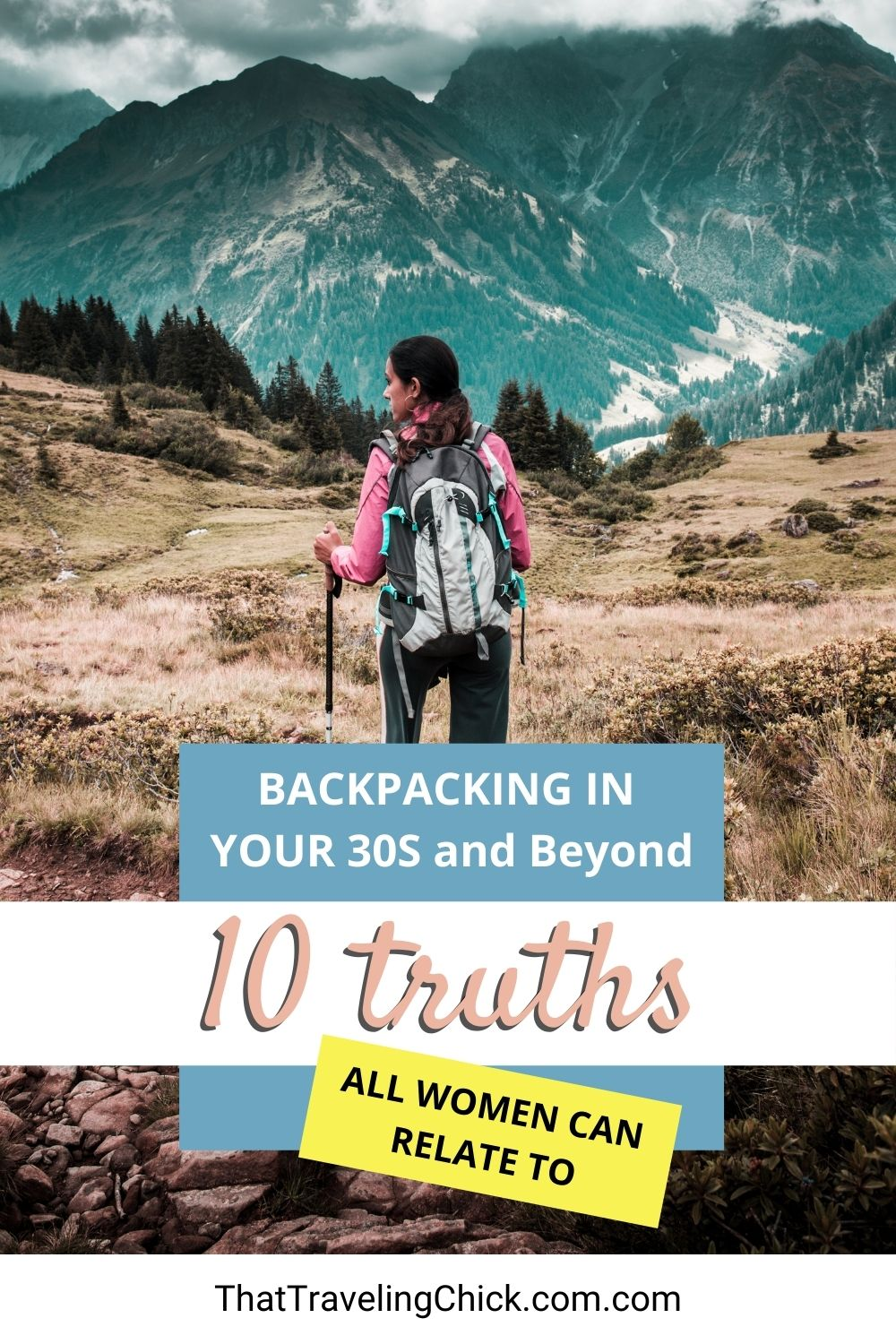 Backpacking in your 30s and beyond #backpacking #budgetbackpacking #womenwhobackpack
