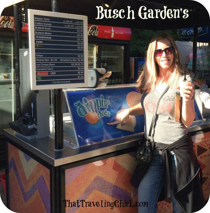 Busch Gardens Tampa Florida Dippin Dots  #buschgardens #tampaflorida #florida #tampa #amusementpark