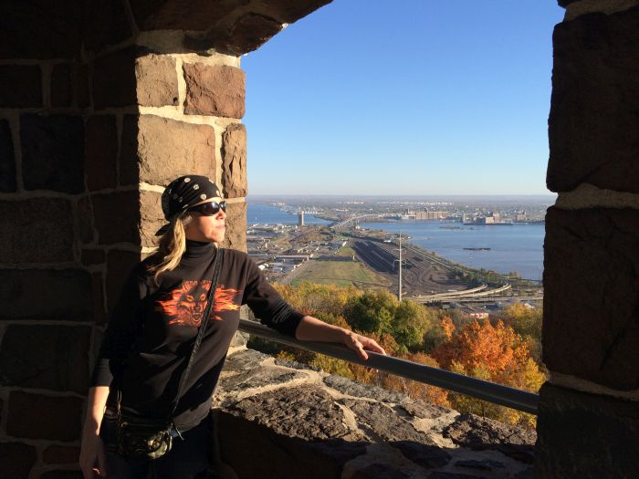 Enger Tower overlooking Duluth
