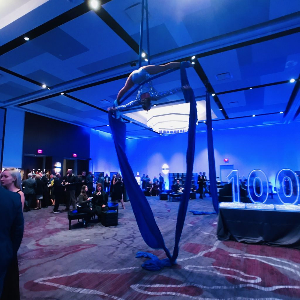 Hilton Rochester Mayo Clinic Area's ballrooms for the night's festivities