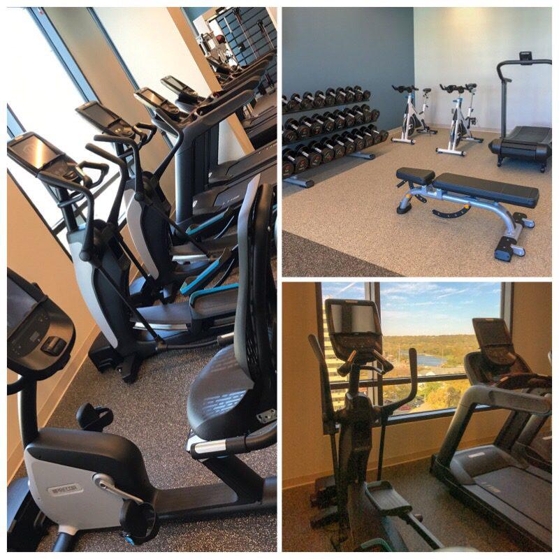 Fitness Center Hilton Rochester Mayo Clinic Area #travel #minnesota #hilton #lodging #mayoclinic #rochester #hiltonhotel