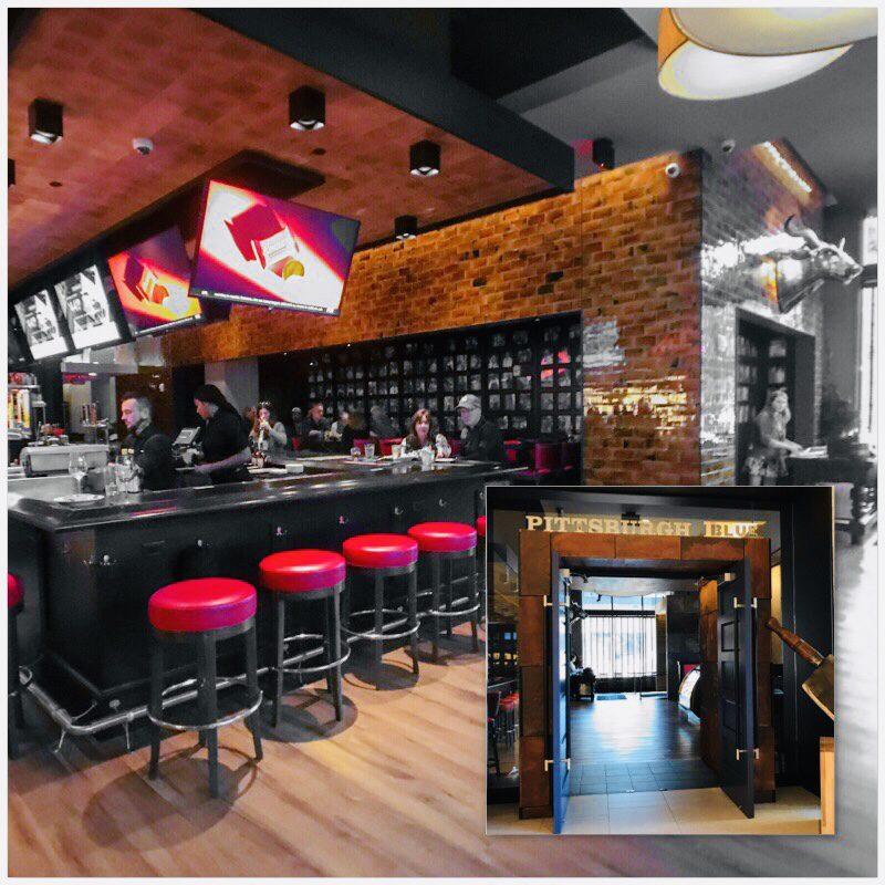 Pittsburgh Blue Steakhouse Hilton Rochester Mayo Clinic #travel #minnesota #hilton #lodging #mayoclinic #rochester #hiltonhotel