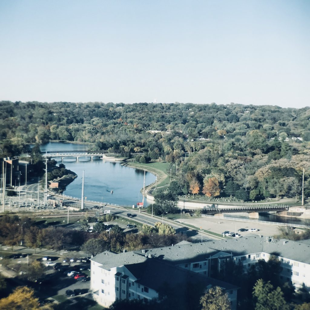 Minnesota Zumbro River #travel #minnesota #hilton #lodging #mayoclinic #rochester #hiltonhotel