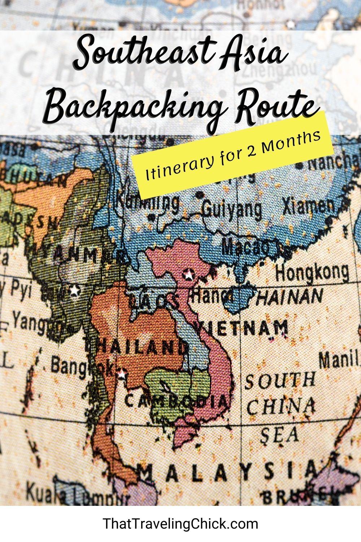 Southeast Asia Backpacking Route #southeastasia #backpackingasia