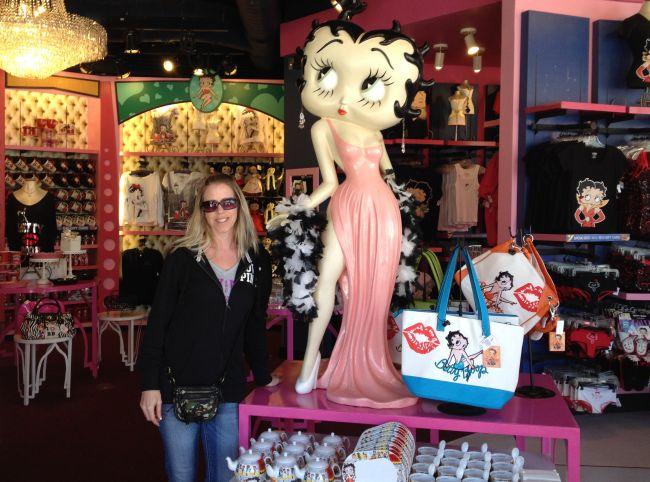 Betty Boop Universal Orlando #orlando #florida #universalorlando #orlandoflorida #amusementpark