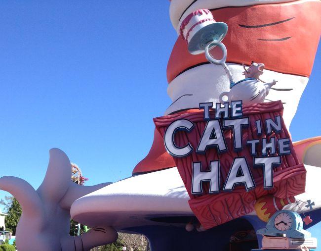 The Cat in the Hat #orlando #florida #universalorlando #orlandoflorida #amusementpark