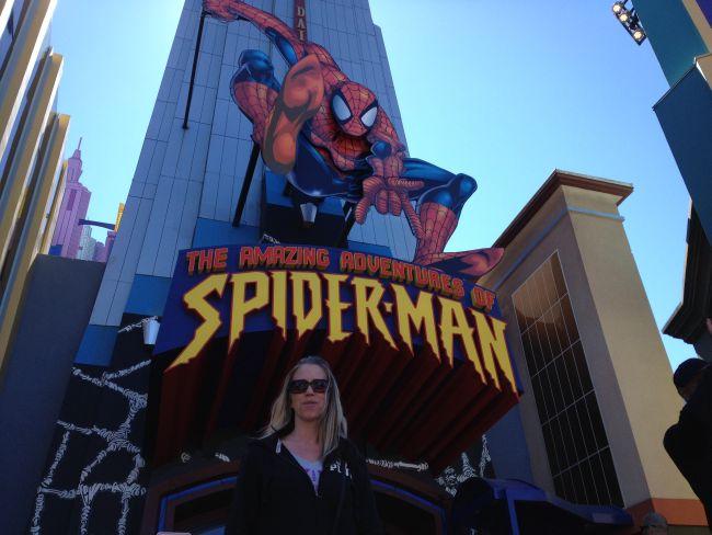 Universal Orlando The Amazing Adventures of Spiderman #orlando #florida #universalorlando #orlandoflorida #amusementpark