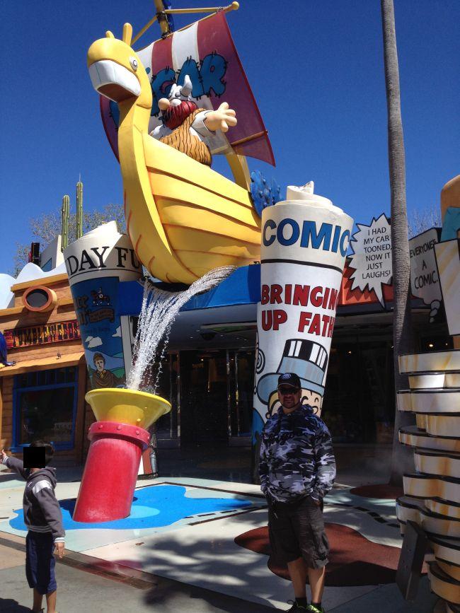 Hagar the Horrible Universal Orlando #orlando #florida #universalorlando #orlandoflorida #amusementpark