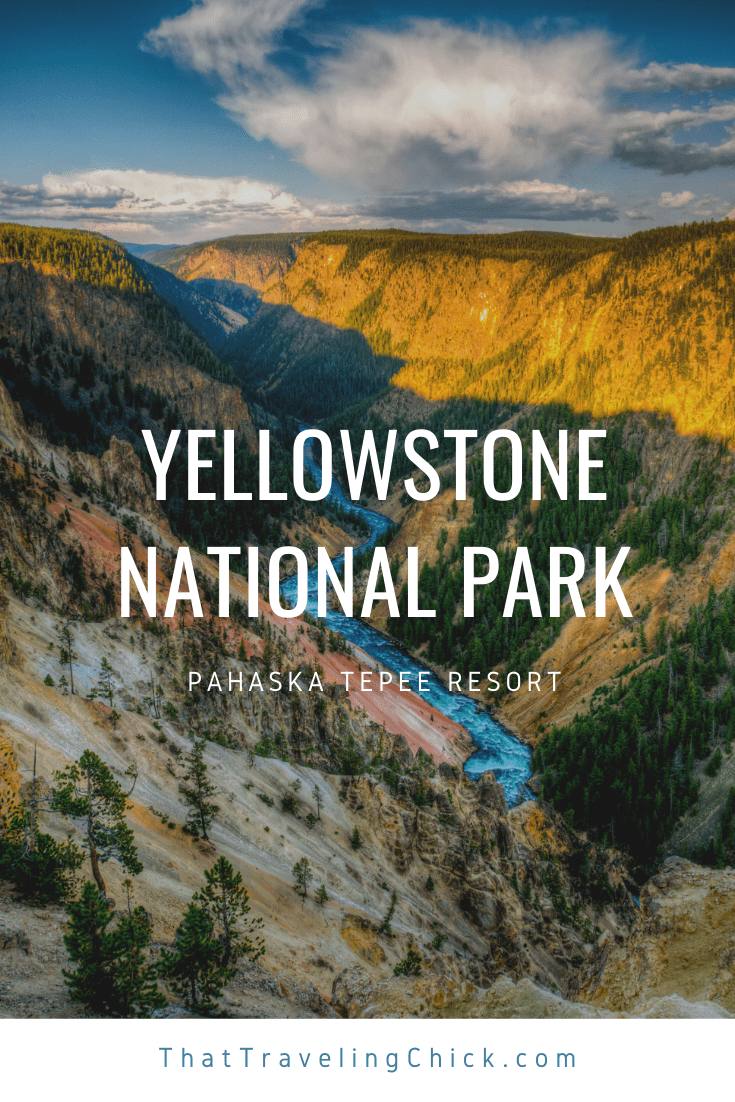Yellowstone National Park Pahaska Tepee Resort #yellowstonenationalpark