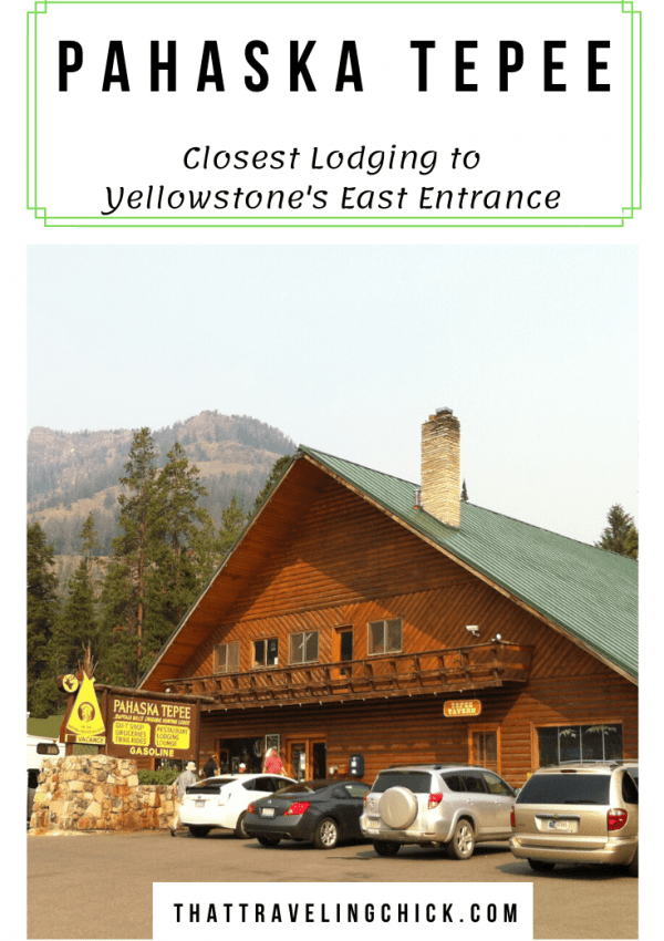 Closest Lodging to Yellowstone's East Entrance #yellowstone #yellowstonelodging #pahaskatepee