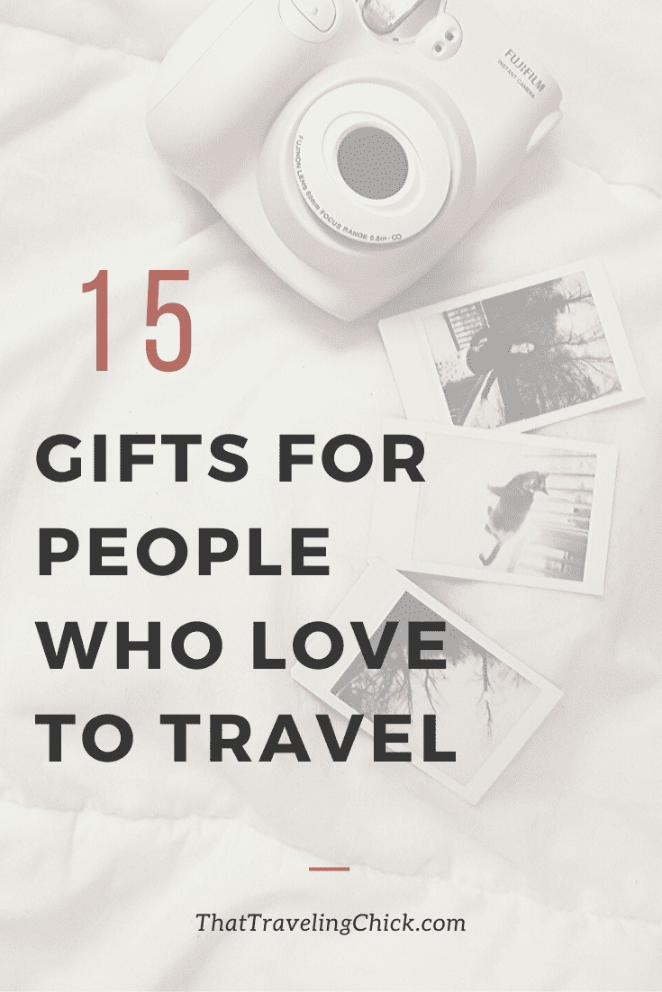 Gifts for People Who Love to Travel #travelgifts #travel #travelaccessories