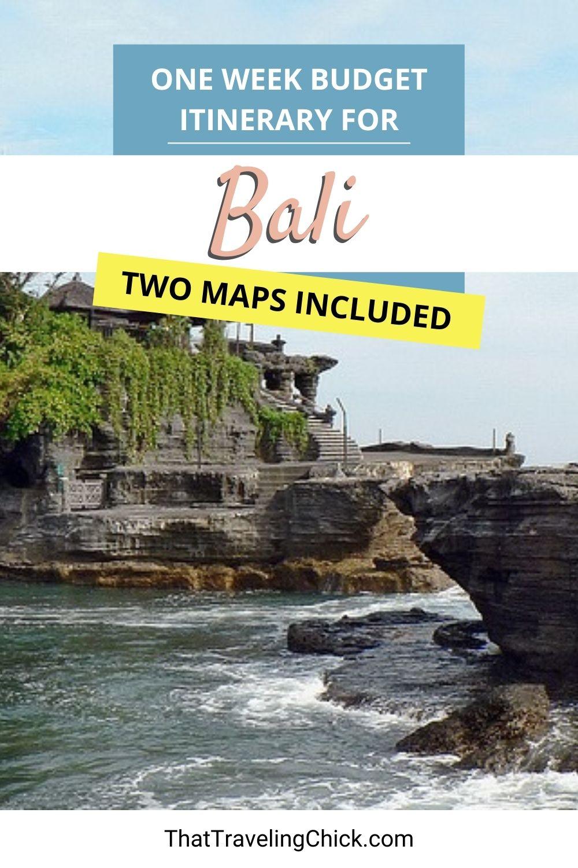 One Week Budget Itinerary for Bali #bali #oneweekinbali #balitravelitinerary