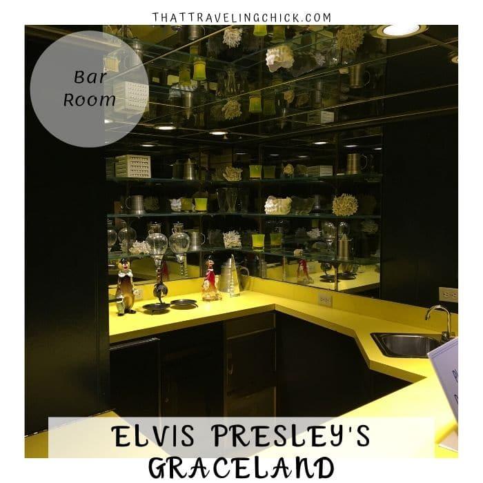 Elvis Presley Graceland - Bar Room at Graceland #graceland #elvispresley #tennessee #memphis #tourgraceland