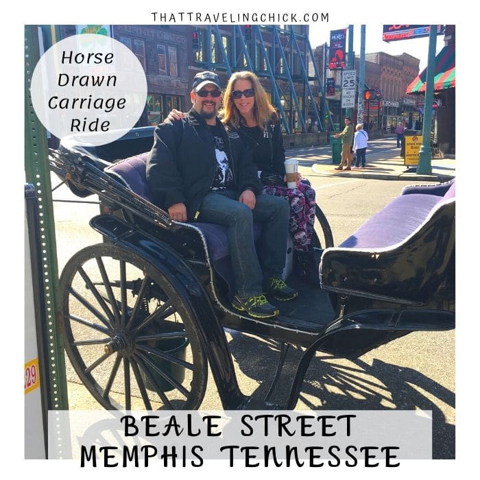 Horse Drawn Carriage ride around Memphis #memphis #bealestreet #horsedrawncarriageride