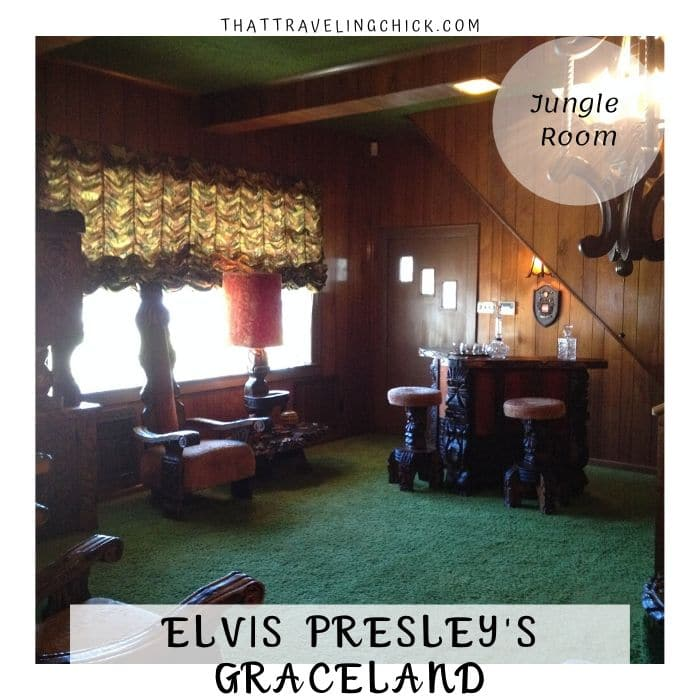 Jungle Room at Graceland #elvispresley #elvis #graceland #memphis #tourgraceland #tennessee