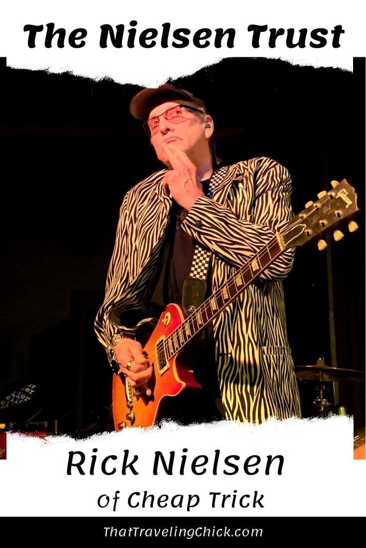 The Nielsen Trust Rick Nielsen #thenielsentrust #ricknielsen #cheaptrick