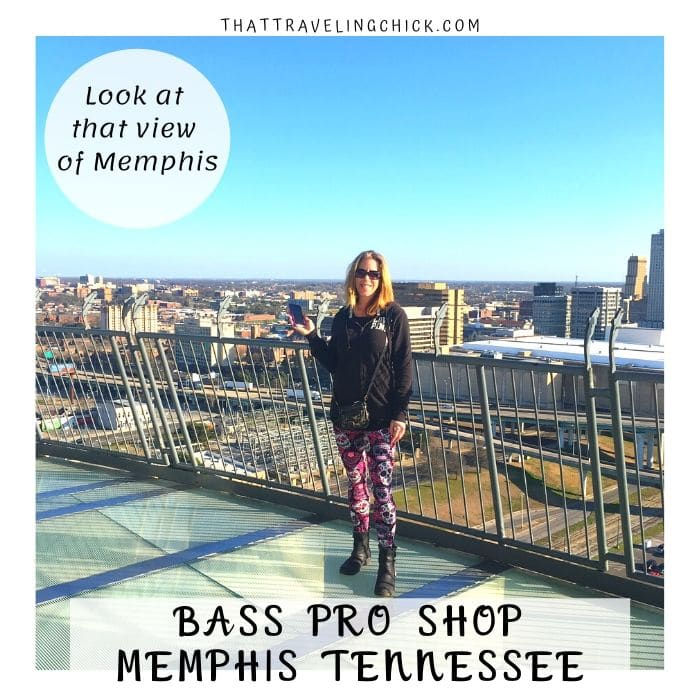 Observation Deck on top of Memphis Bass Pro Shop #bassproshop #memphis #tennessee #bassproshoppyramid