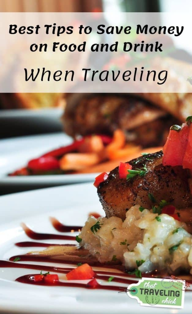 Best Tips to Save Money on Food and Drink #foodanddrink #saveonfoodanddrink #traveltips #howtosavemoneywhentraveling