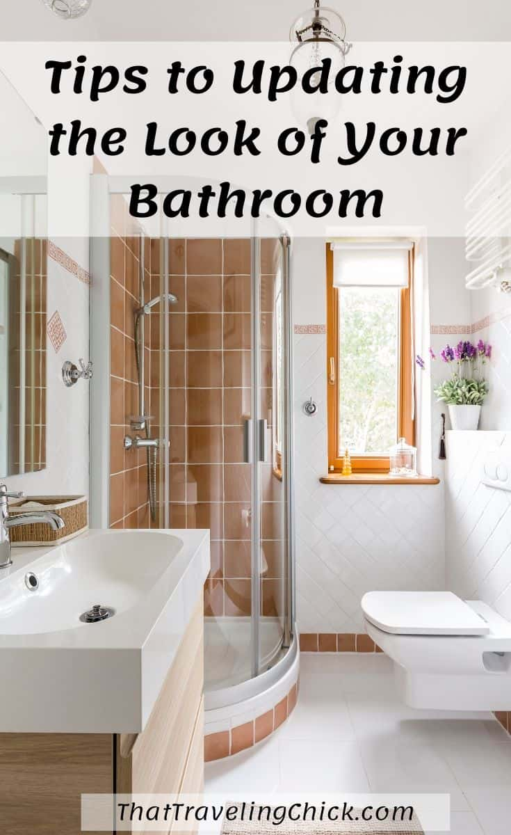 Tips to Updating the Look of Your Bathroom  #bathroomremodel #bathroomupdating #bathroomdecor