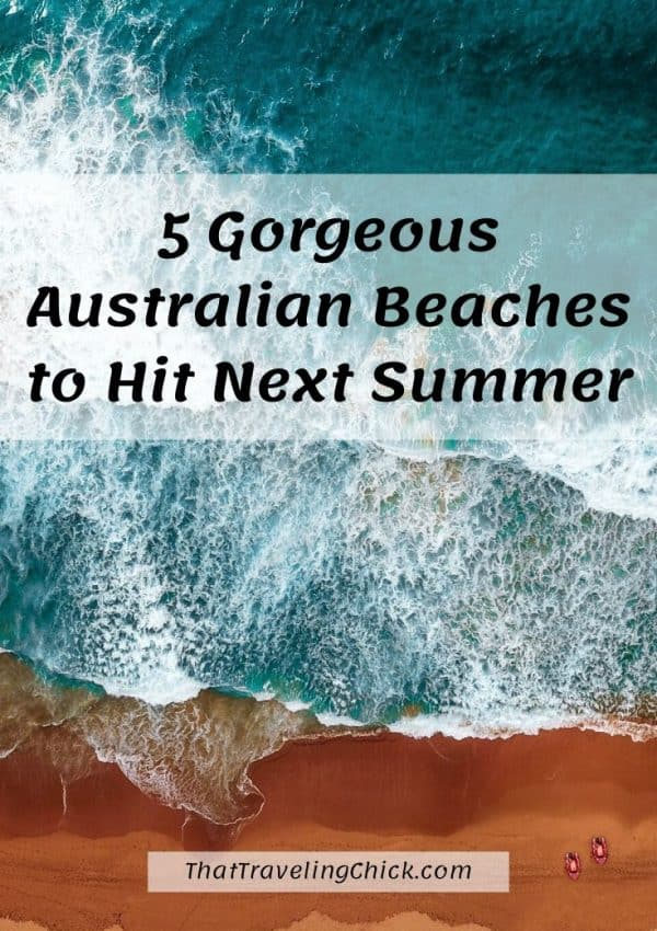 5 Gorgeous Australian Beaches to Hit Next Summer #australianbeaches #travel #australian #australia