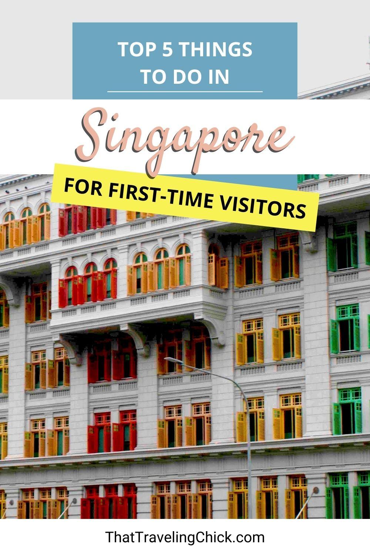 5 Things to do in Singapore #singapore #thingstodoinsingapore