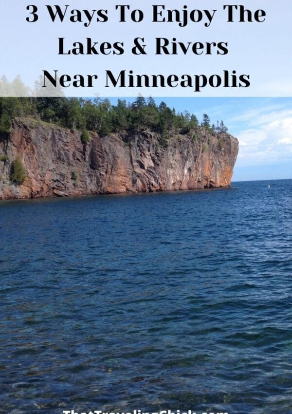 3 Ways To Enjoy The Lakes & Rivers Near Minneapolis #lakes #rivers #minnesota #minnesotatravel
