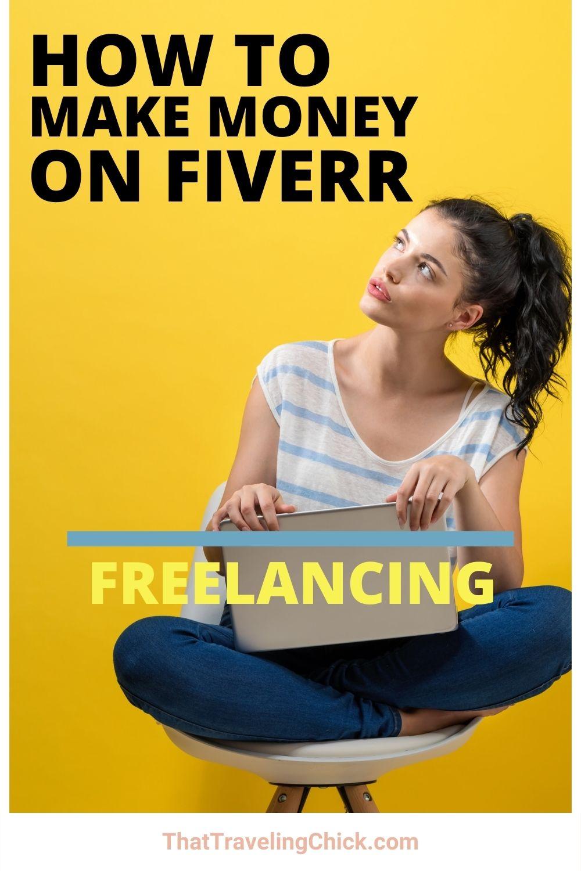 How to Make Money on Fiverr #makemoney