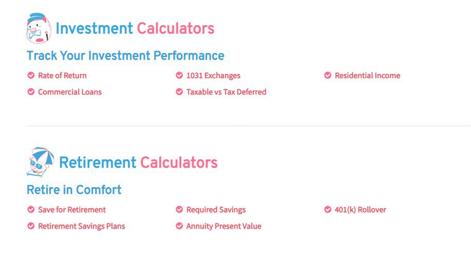 Pigly Invest and Retire Calculators  #retirementcalculators #investmentcalculators