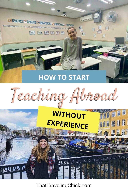 How to Start Teaching Abroad #teachingabroad #movingabroad