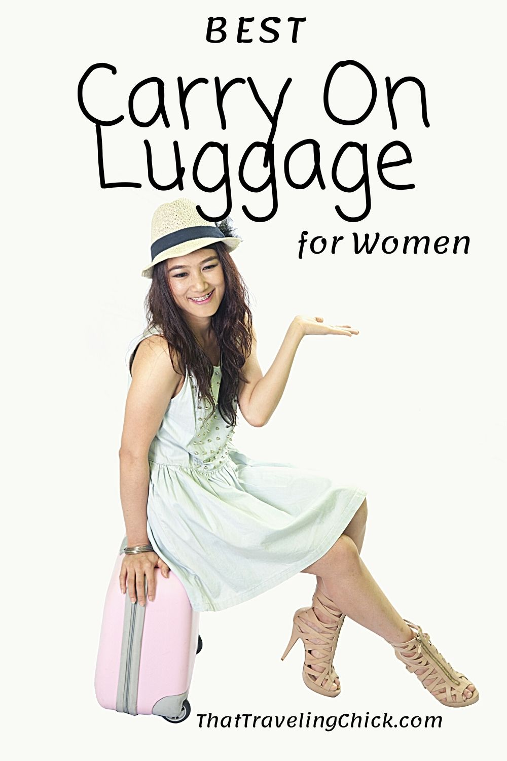 Best Carry On Luggage for Women #carryonluggage