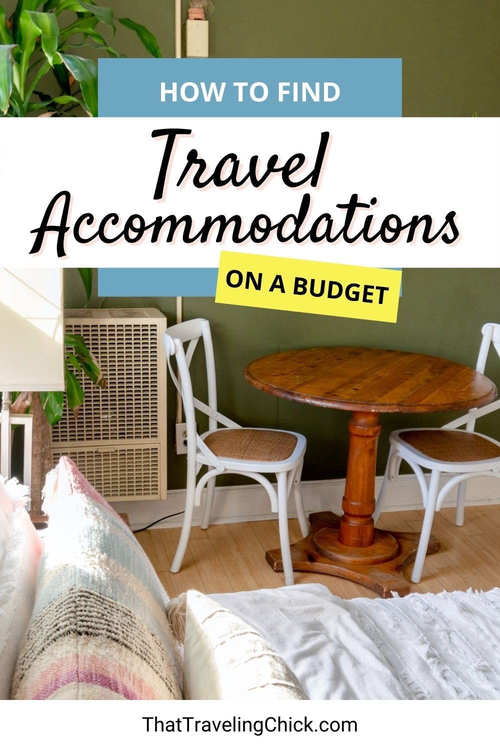 How to Find Travel Accommodations on a Budget #cheaptravelaccommodations #cheapaccommodations
