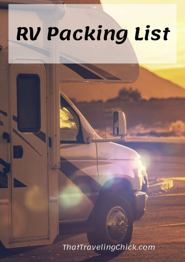 RV Packing List #rvpackinglist #packinglist #rving