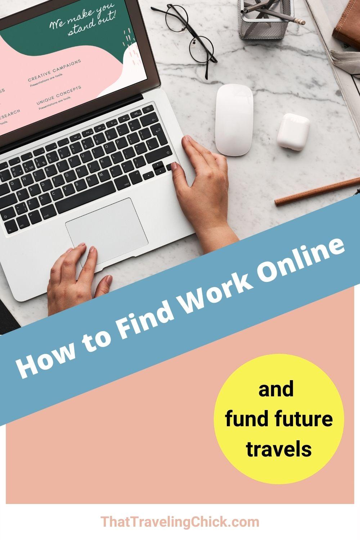 How to Find Work Online #workonline #earnmoney
