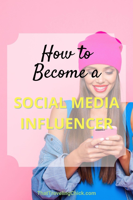 Becoming a social media influencer today.  #socialmediainfluencer