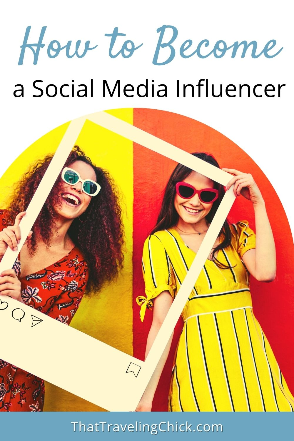 Learn how to become a social media influencer #influencer