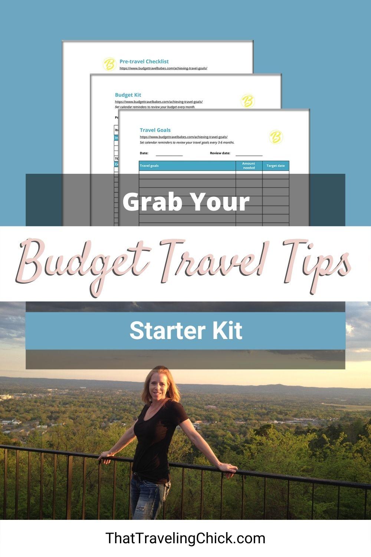 Budget Travel Tips Starter Kit
