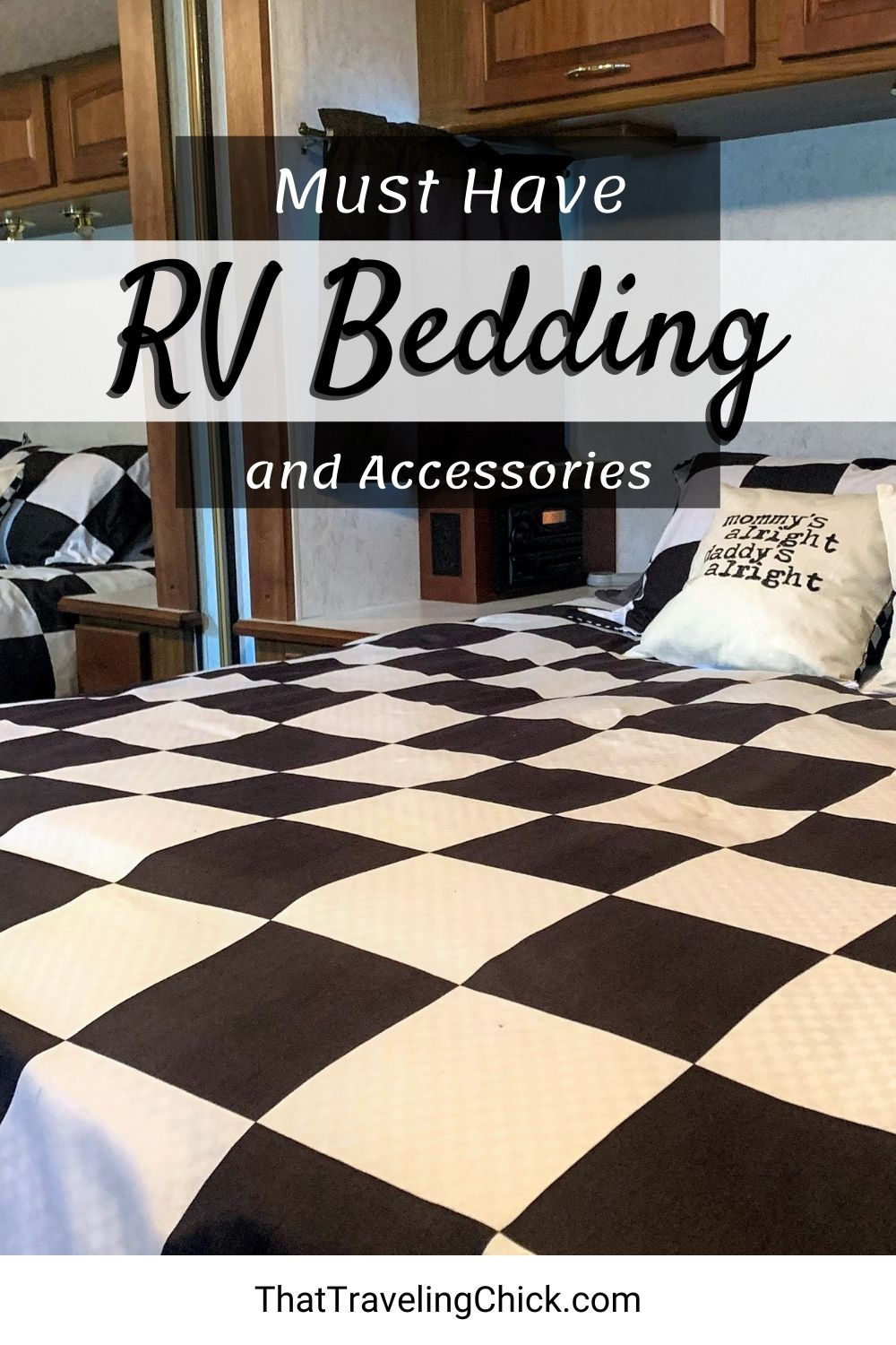 Must Have RV Bedding and Accessories #rvbedding #musthavervaccessories
