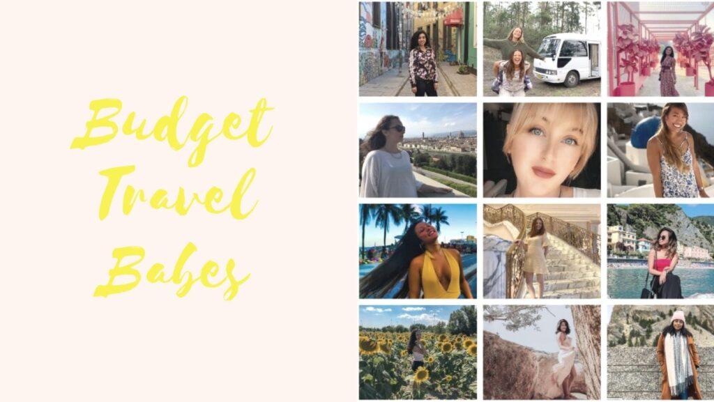 Budget Travel Babes #travel #womenwhotravel #budgettravel