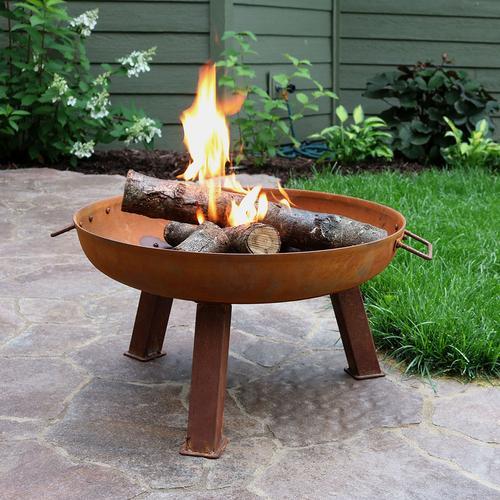 Cast Iron Fire Pit #firepit #outdoorfirepit