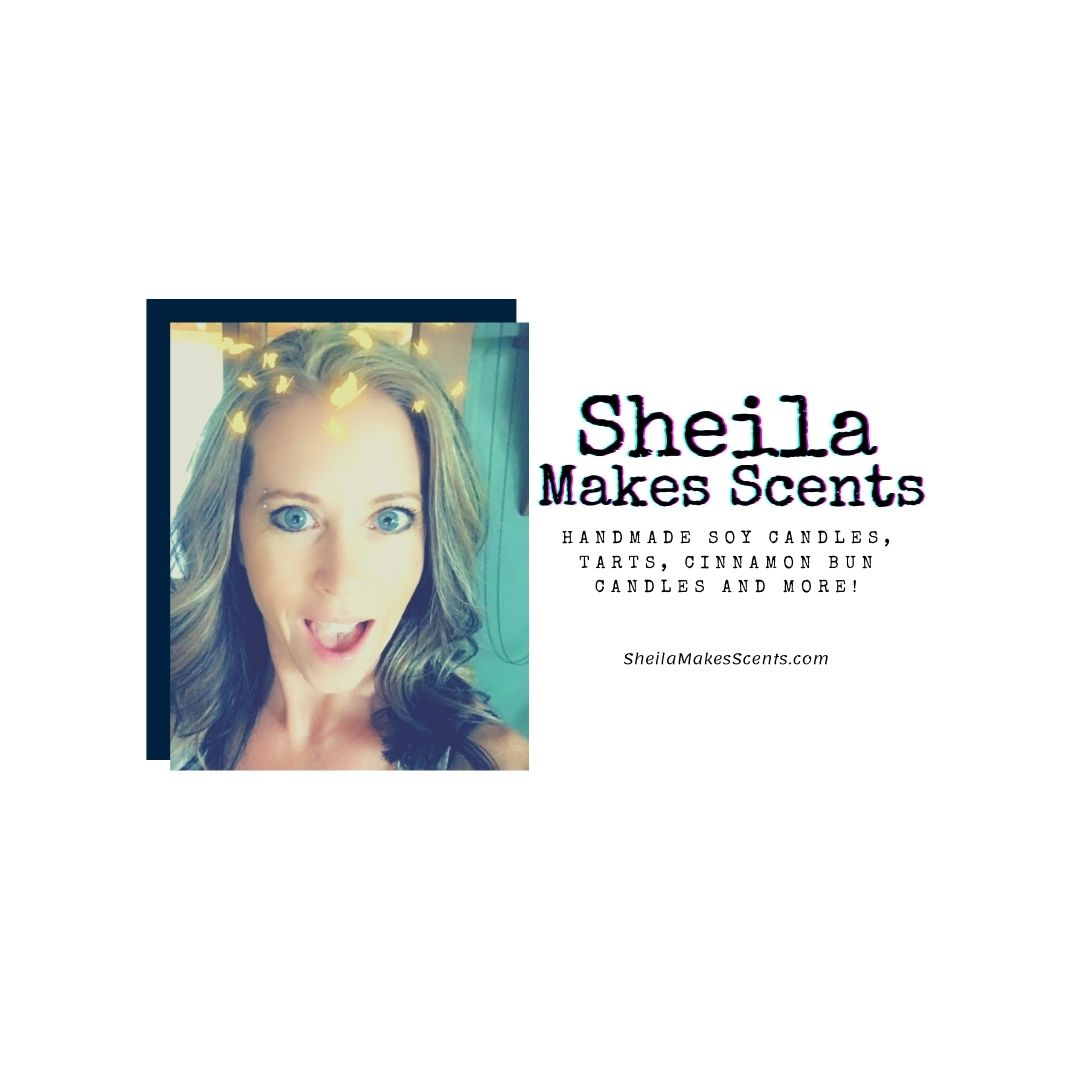 Sheila Makes Scents - handmade soy candles and melts #handmadecandles #homemadecandles #candles #soycandles #soymelts
