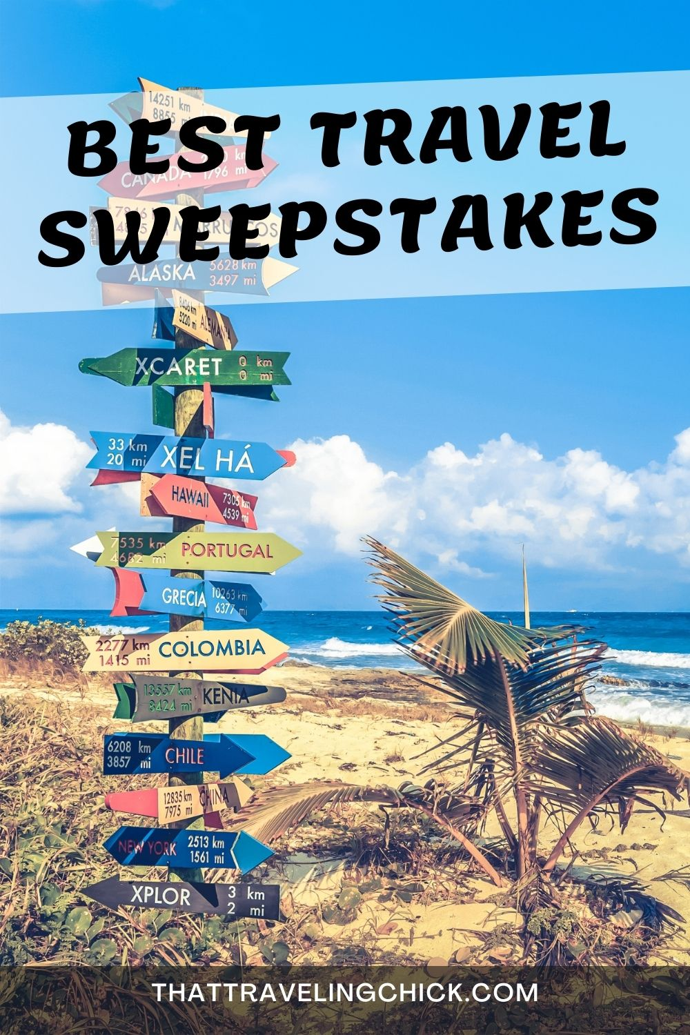 Best Travel Sweepstakes #travel #travelsweepstakes #wintravel